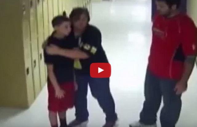 فيديو معلمة بطلة