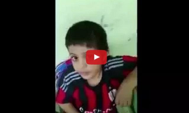 فيديو معلم يضرب