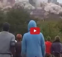 فيديو إزالة مباني