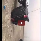 فيديو حادث غريب