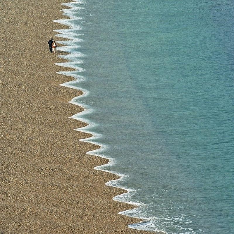 أمواج مسننة