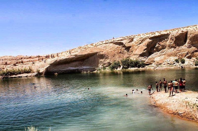 البحيرة الغامضة بتونس