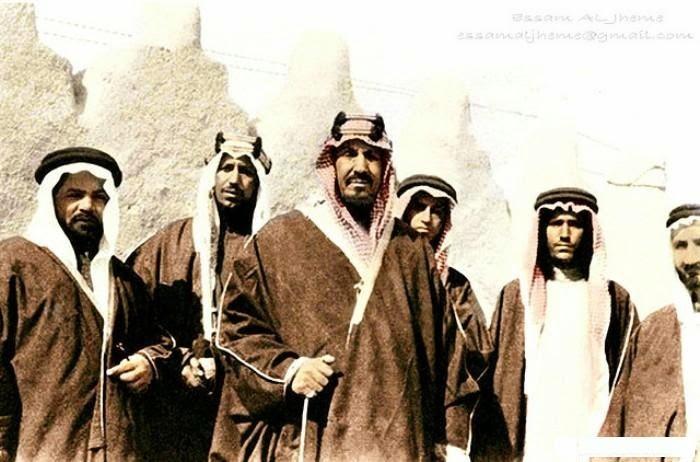 الزي السعودي الشعبي