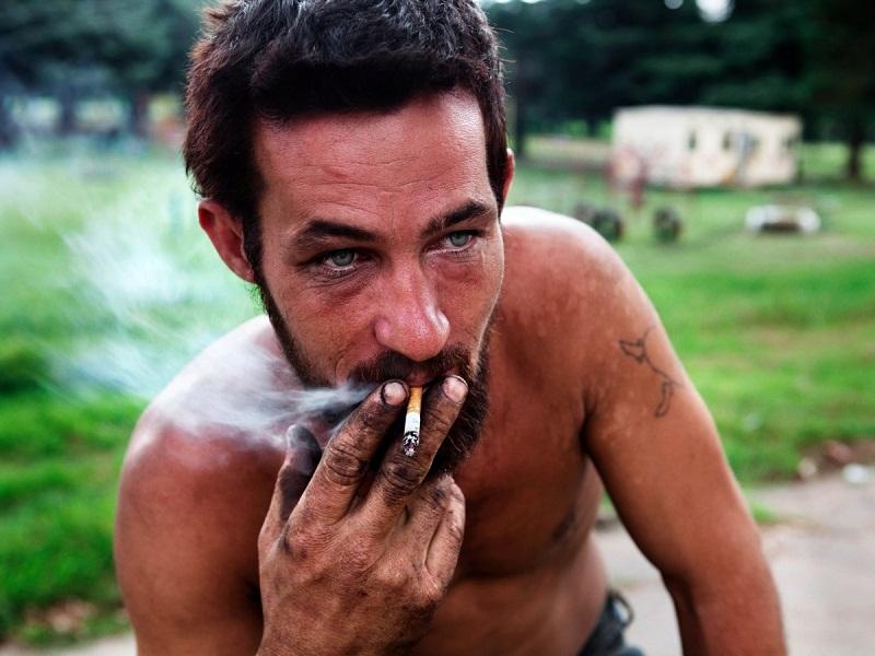 المدخنين أفريقيا الجنوبية