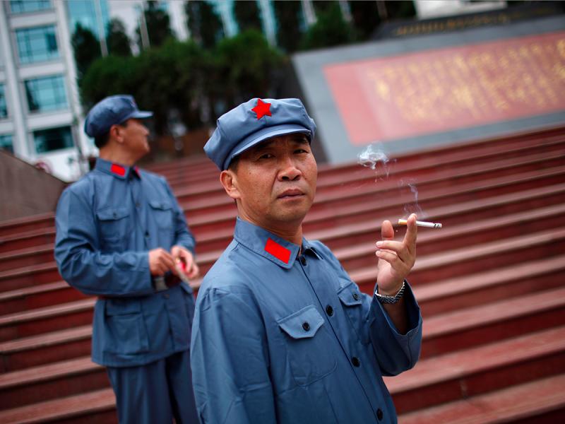 المدخنين في الصين