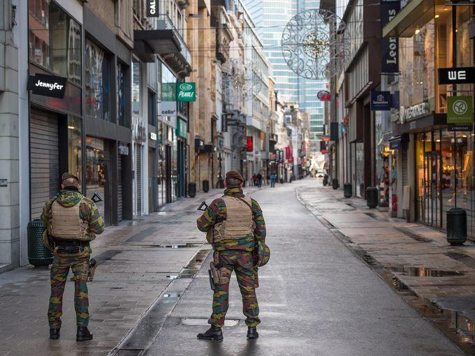 جنود بلجيكيين