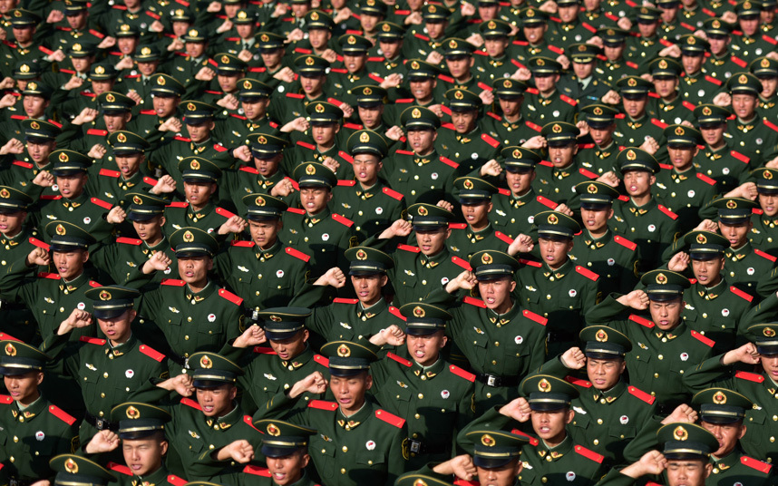 شرطة صينية