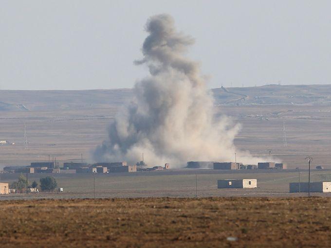 غارة على سوريا
