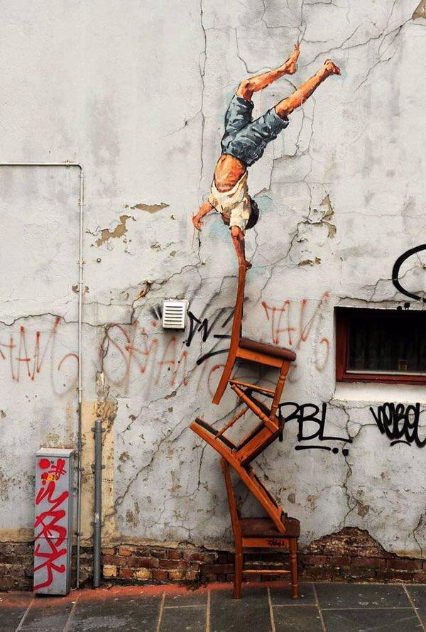 فن الرسم بالشارع