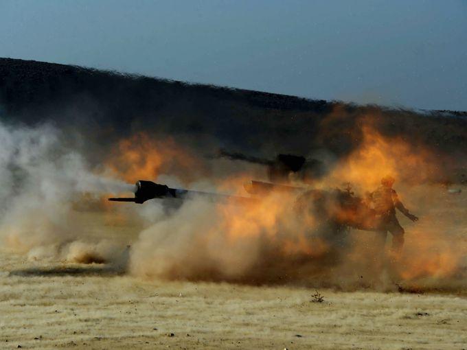 مدفعية أفغانية