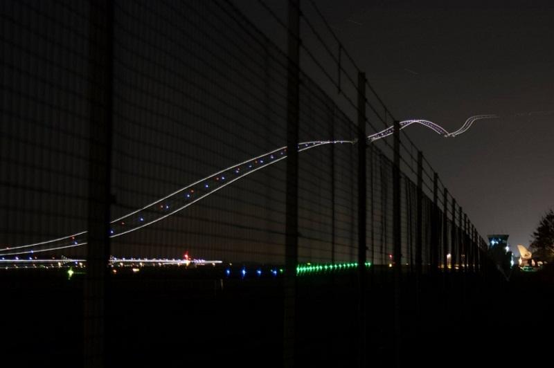مسار طائرة