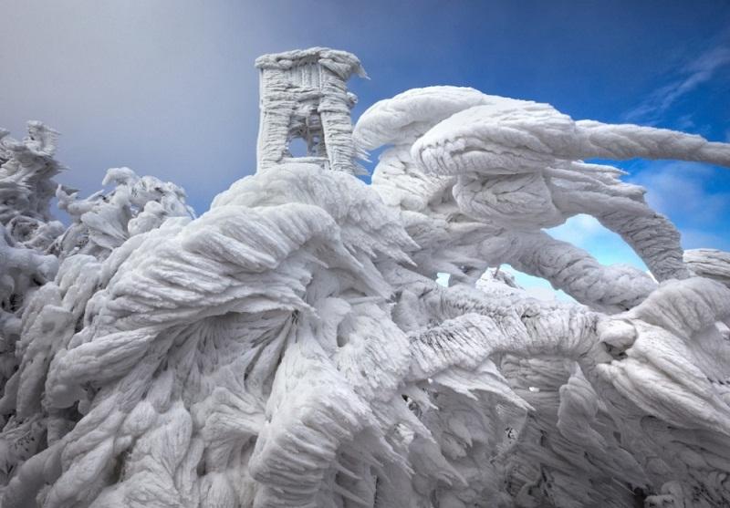 منحوتة جليدية