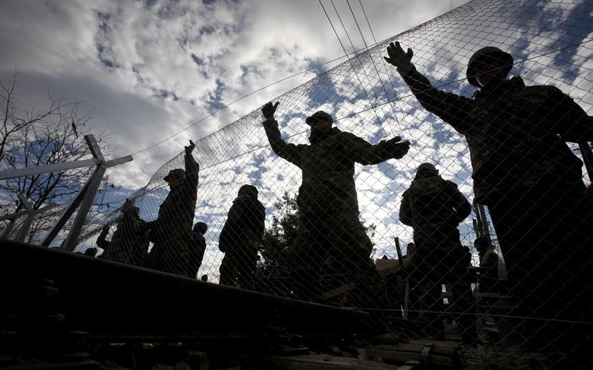 مهندسين بالجيش المقدوني