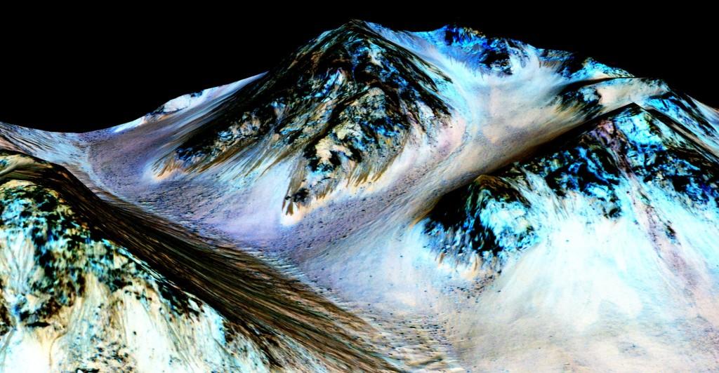 مياه في المريخ