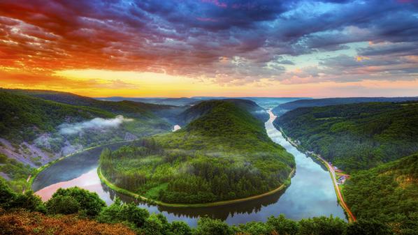 نهر سار الألماني