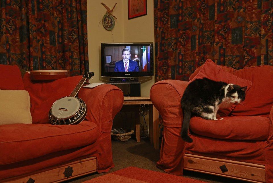 مشاهدة التلفاز من جميع أنحاء العالم
