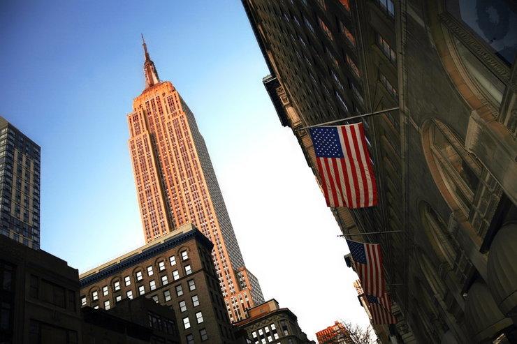 مبنى إمباير ستيت في نيويورك