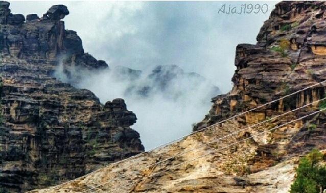 جبال الريث في جازان