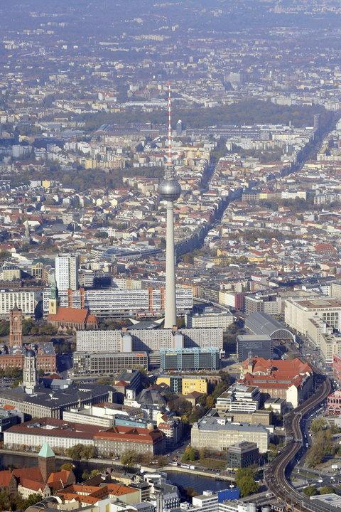 برج التلفزيون في برلين