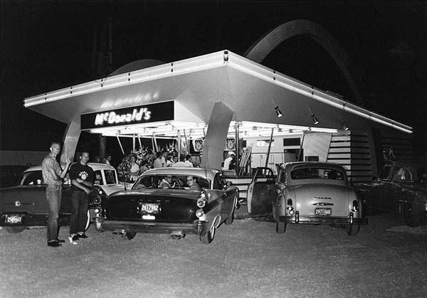 أول فروع مطعم ماكدونالدز