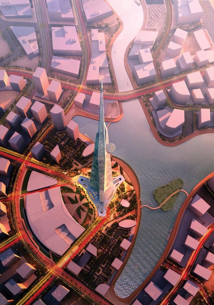 برج المملكة في السعودية