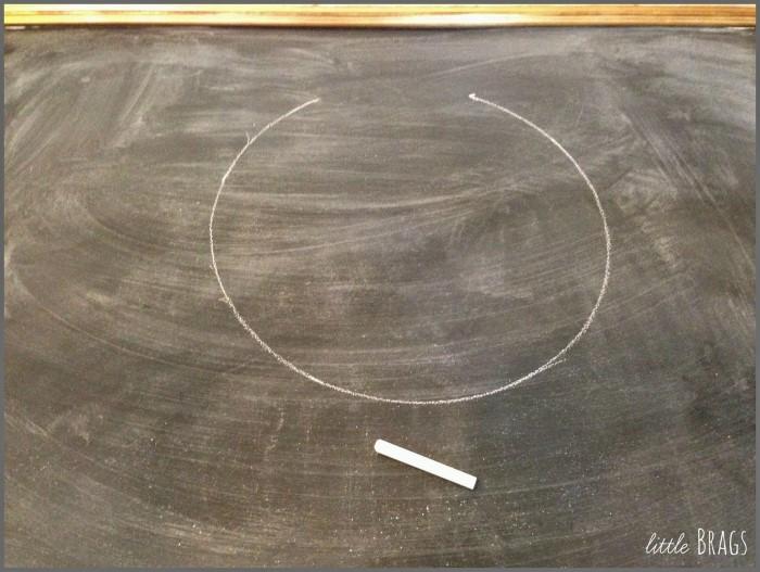 صعوبة رسم دائرة مثالية