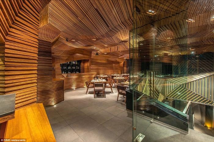 أجمل تصاميم المطاعم