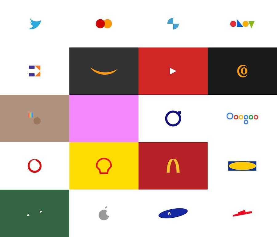 شعارات أكبر الشركات