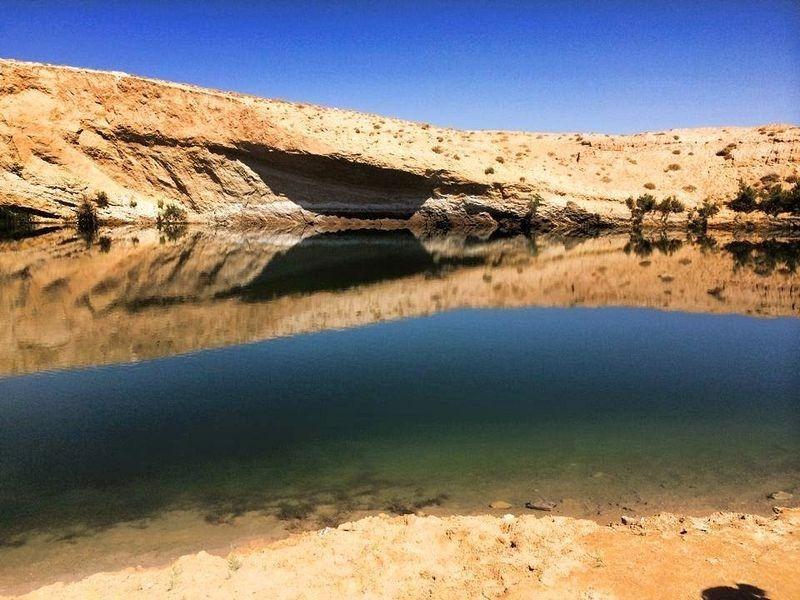 بحيرة تونسية غامضة