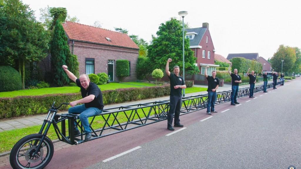 أطول دراجة هوائية