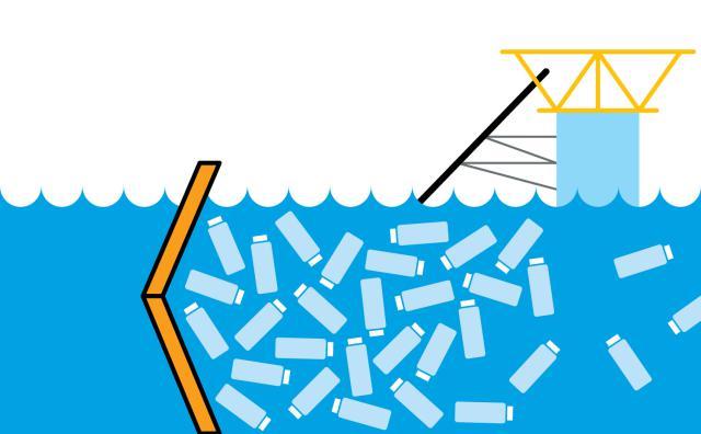 اختراع تنظيف المحيط