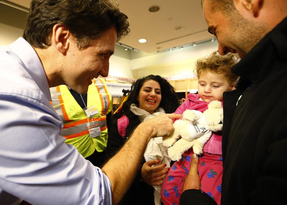 كندا تستقبل اللاجئين