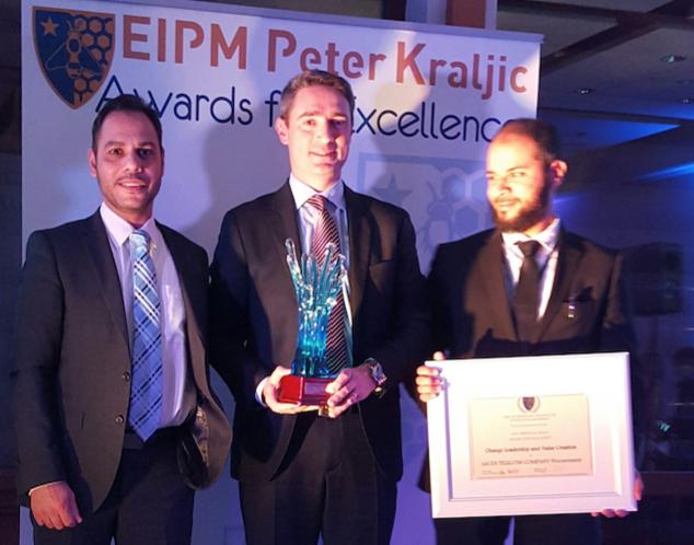 STC تفوز بجائزة المعهد الأوروبي