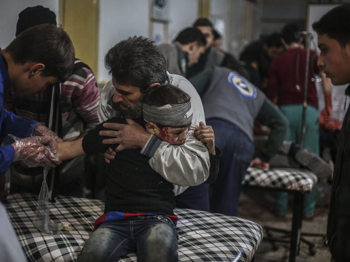 جرحى سوريين