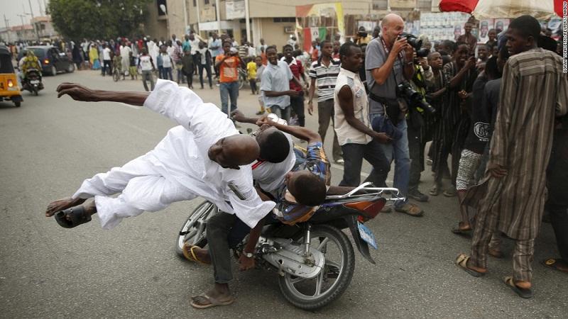حادث في نيجيريا