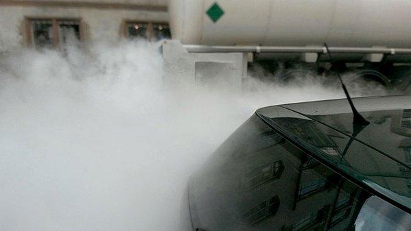 ضباب غاز الكربون