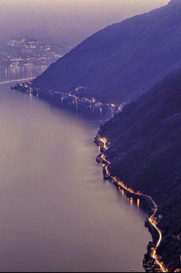 طريق ساحلي بإيطاليا