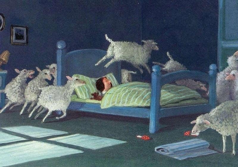 عد الأغنام