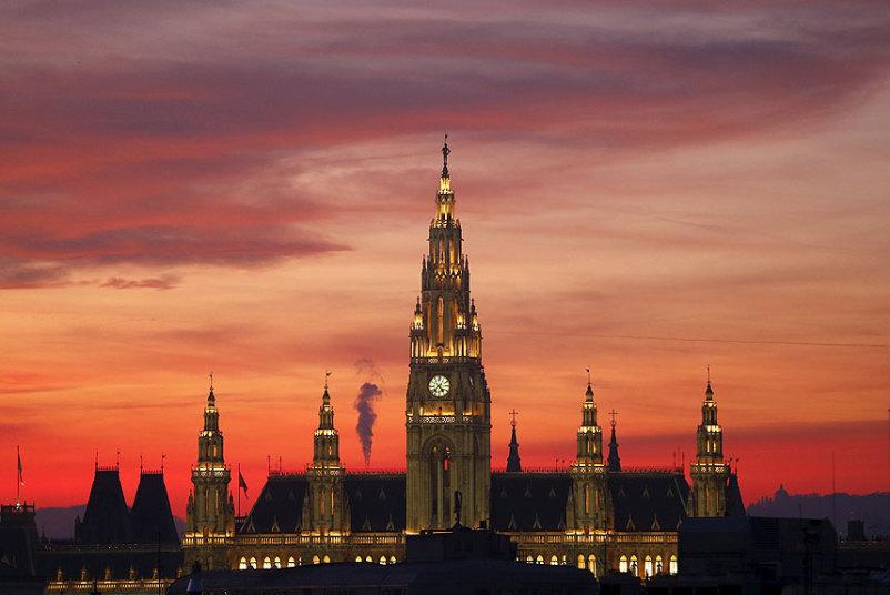 قاعة مدينة فيينا