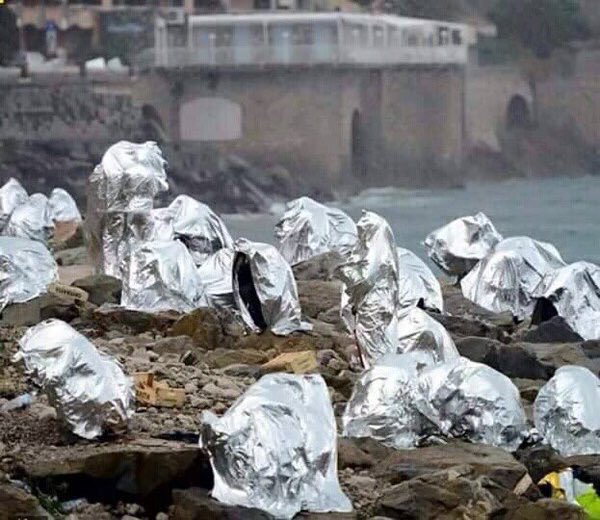 لاجئين في اليونان