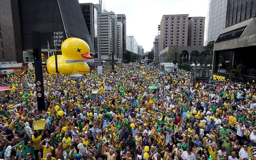مظاهرة ضد الرئيس