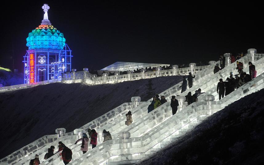 مهرجان هاربين بالصين