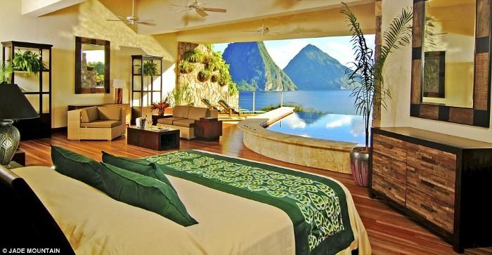 أجمل الغرف المكشوفة للفنادق