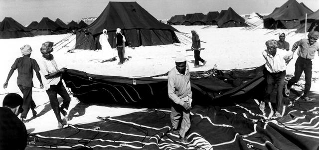 بيت الشعر أو الخيمة العربية