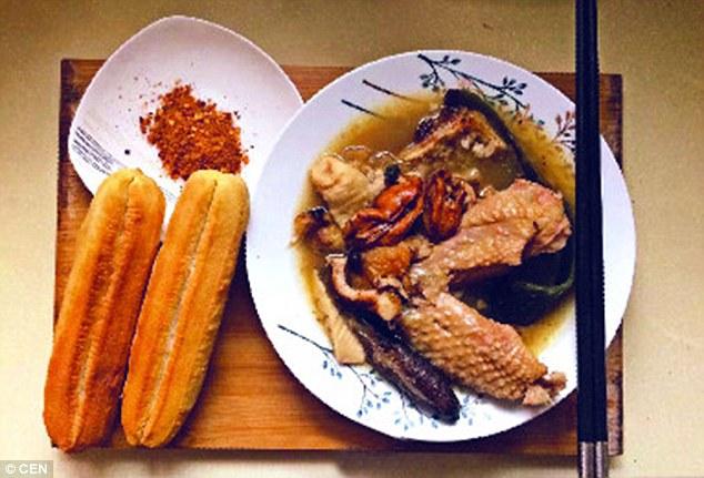 أطباق فطور صينية