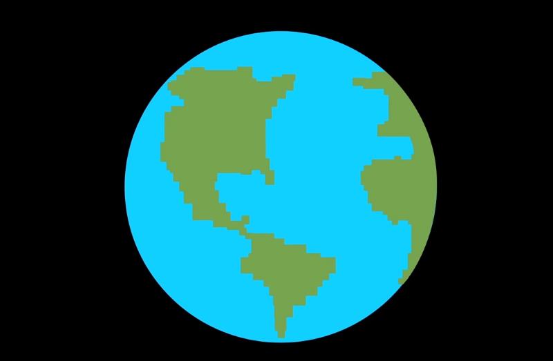 الأرض بضعف الحجم الحالي
