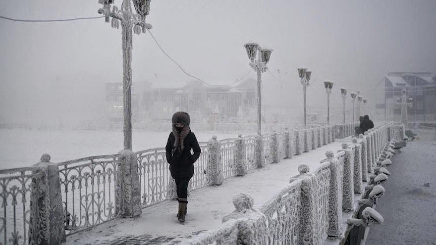أبرد مدينة
