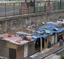 Roma gypsy village