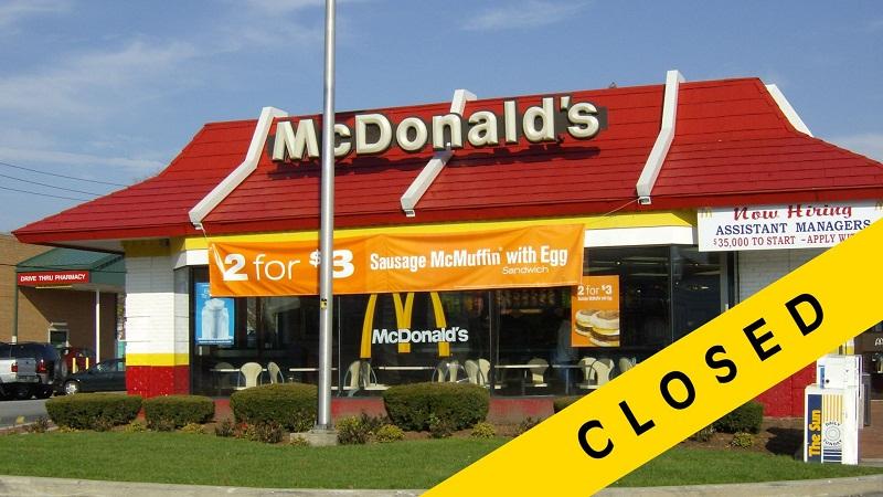 حظر ماكدونالد
