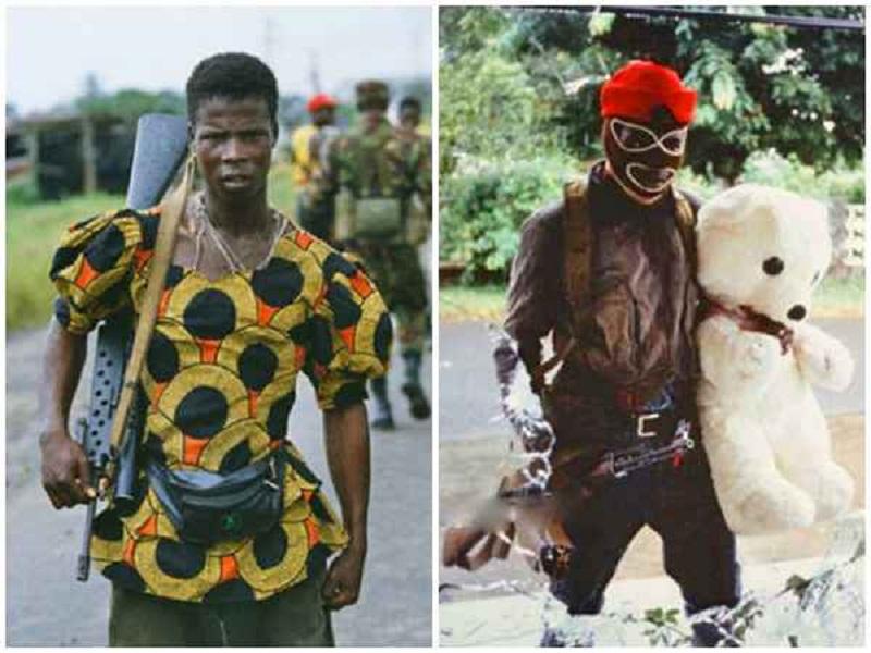 المقاتلين الأفارقة